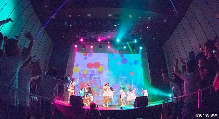 虹のコンキスタドール_ライブ