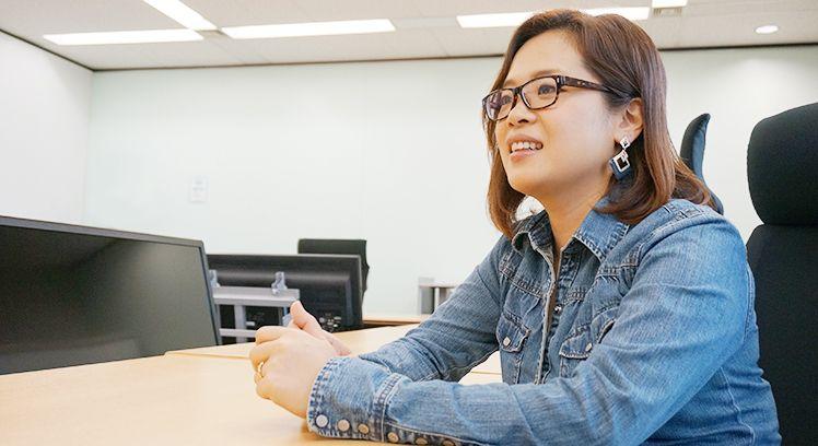 ルナルナ事業部_日根麻綾さん