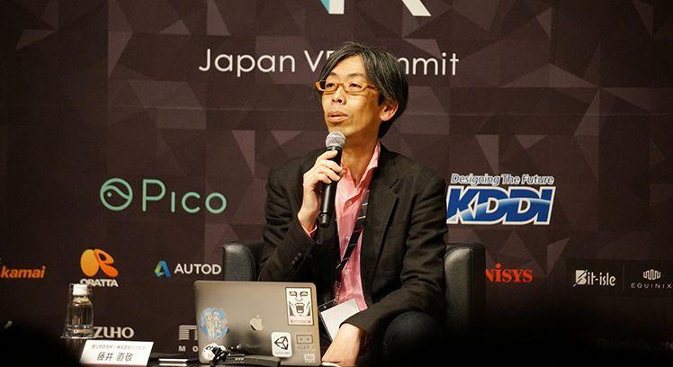 藤井直敬氏(一般社団法人VRコンソーシアム代表理事)