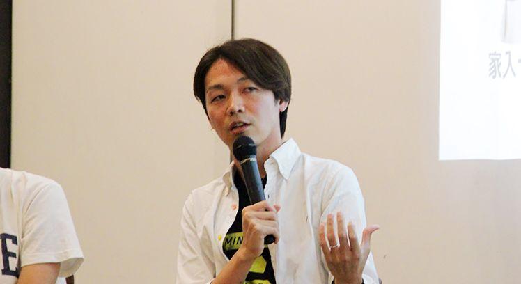 徳谷柿次郎さんの写真