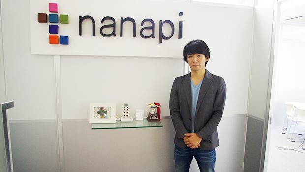 nanapiエントランスの和田さん