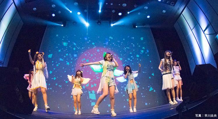 アイドルグループ「虹のコンキスタドール」の近未来ライブがヤバすぎ!デジタル演出で大熱狂の夜!