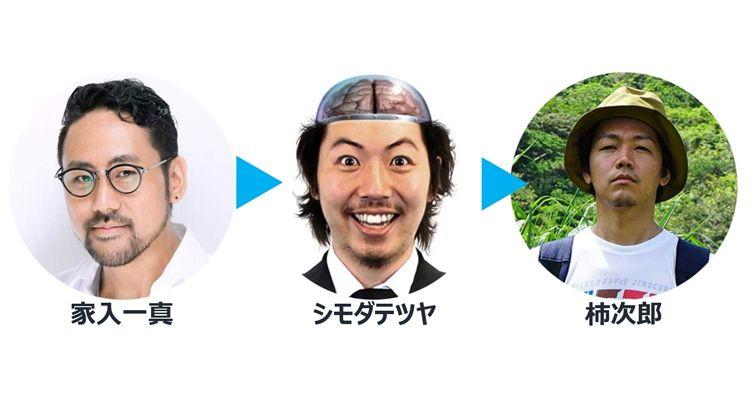 柿次郎さんにまつわるフックアップの連鎖の写真