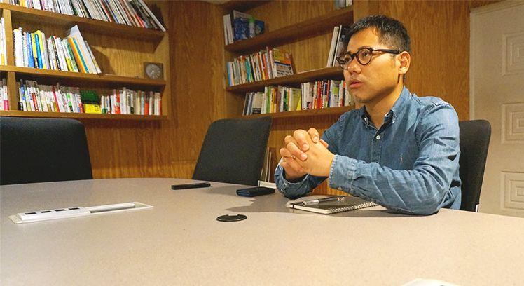 モノサス・代表の林隆宏さん