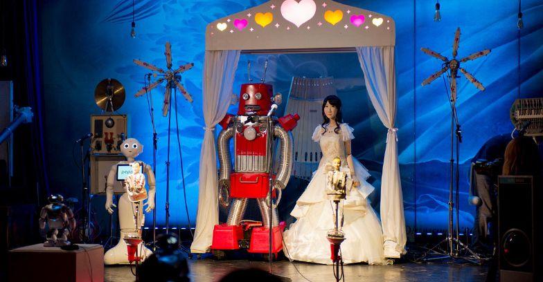 ロボ婚の写真