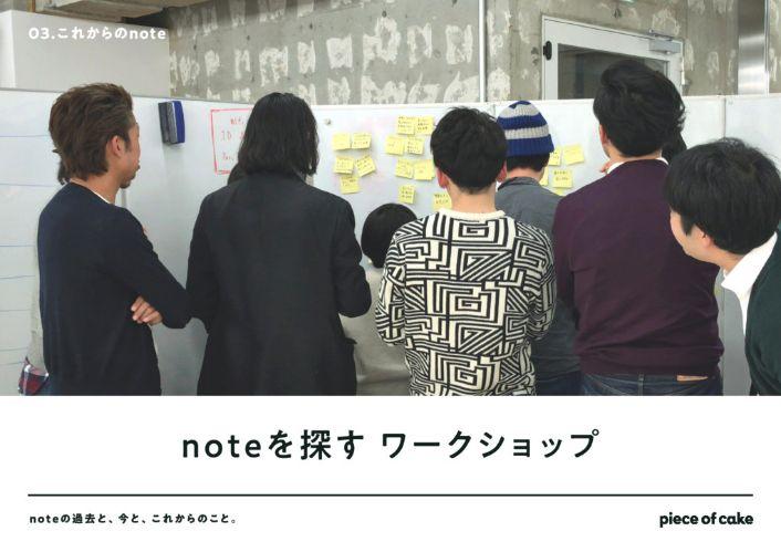 noteを探すワークショップ