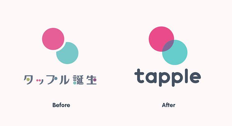 恋活サービス「タップル誕生」ロゴリニューアル、ブランド再定義のプロセスを公開